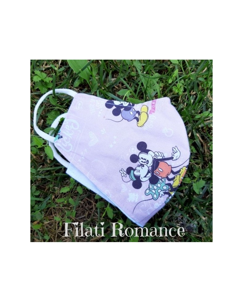 Mascherina per bimba tema Minnie Disney