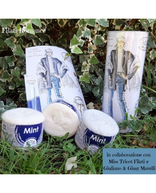 Kit Mint - Miss Tricot Filati in collaborazione con Giuliano & Giusy Marelli