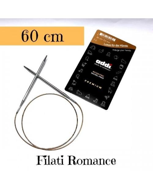 Ferri circolari fissi ADDI PREMIUM senza nickel 60 cm