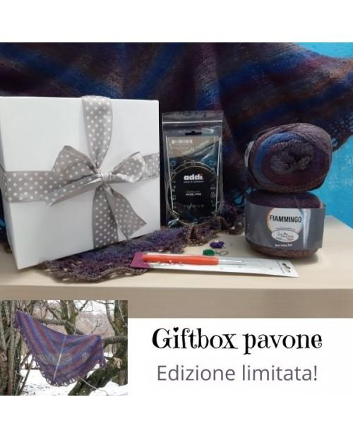 Giftbox Violetta -  Realizza una sciarpa triangolare!