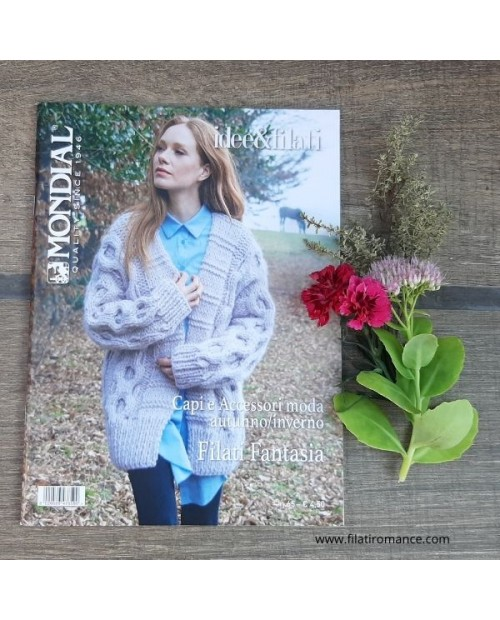 """Rivista Mondial: Speciale Idee & Filati n 36 """"Mohair Collection"""""""