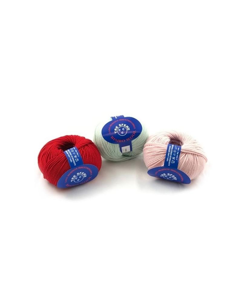 Lana Merino Baby Bimbo Wool
