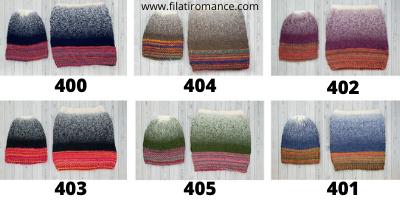 cartella colori knit ensemble