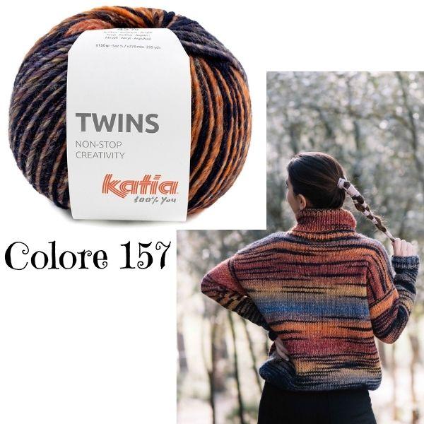 misto lana acrilico sfumato per moda a maglia