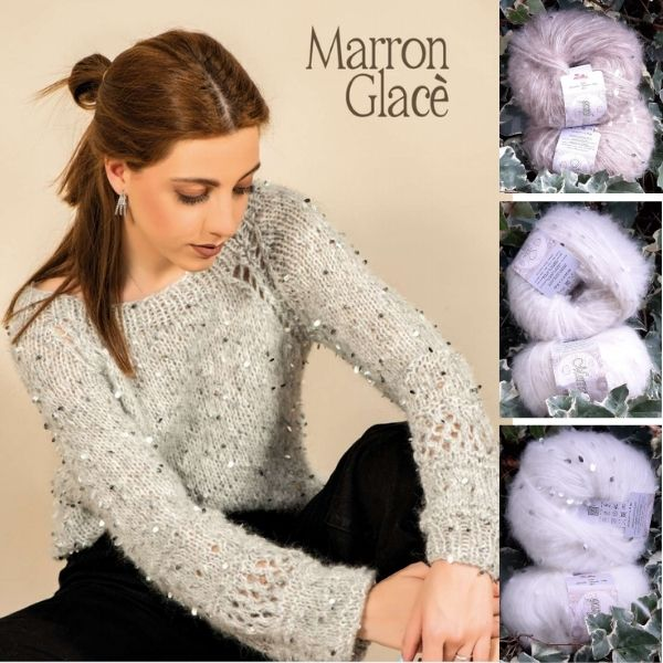 Marron Glacé Silke esempio di lavorazione