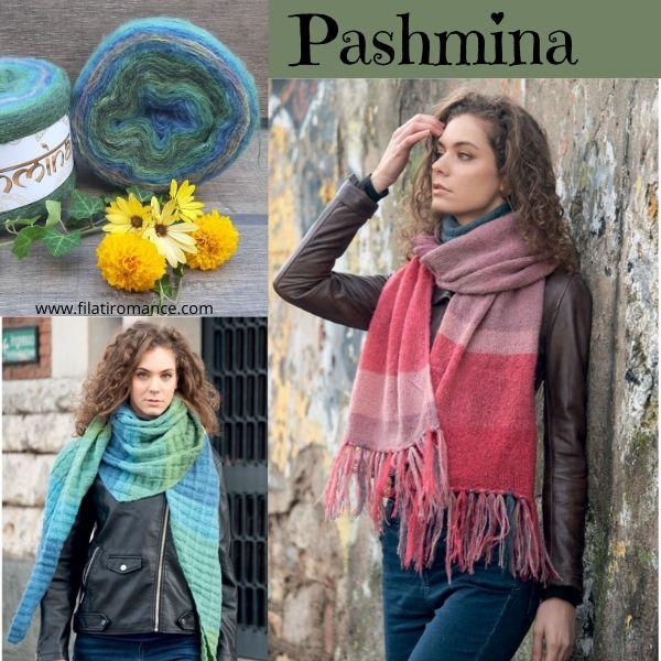 modelli pashmina