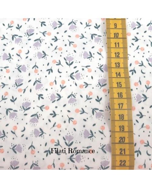 Tessuto in cotone Unicorn Floral di Katia