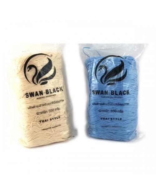 Cordino Swan Black per borse