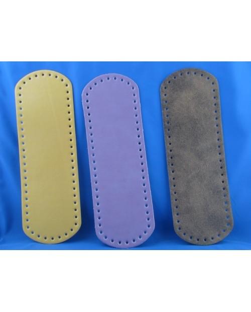 Fondo per borsa in pelle 31 x 9,5 cm