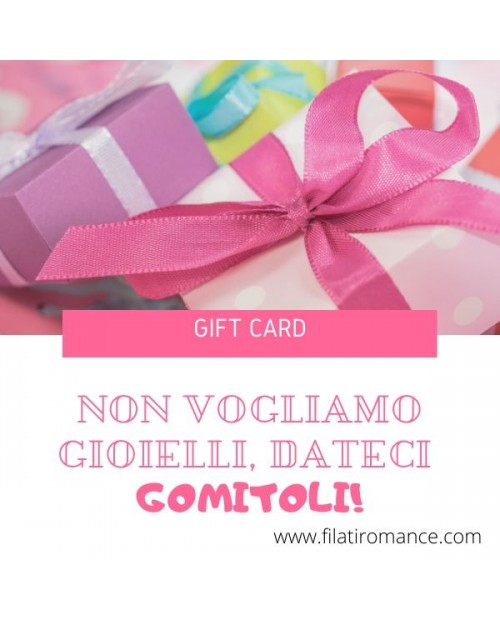 Gift Card - Buono regalo
