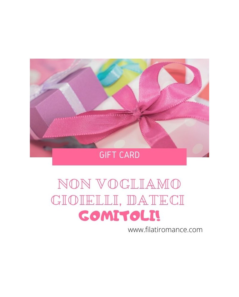 Gift Card - Buono regalo