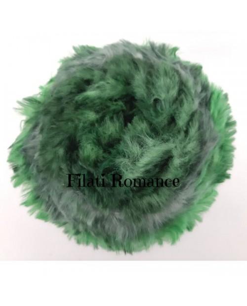 Cocorita Miss Tricot Filati in 100% microfibra effetto pelliccia