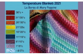 La Temperature Blanket arriva anche in Italia!